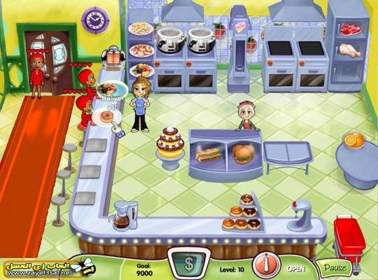 صور لعبة مطعم البرجر لعبة رائعة