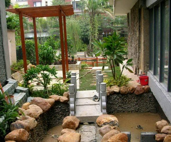 تشكيل حديقة منزلية مذهلة