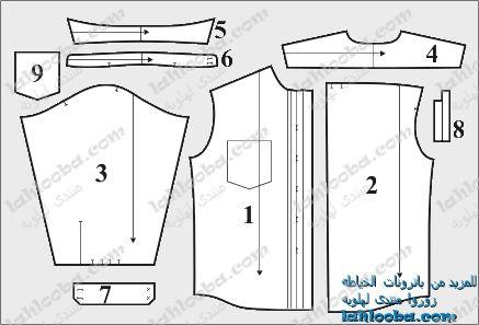 بالصور طريقة عمل باترون قميص نسائي 20160718 2852