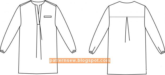 بالصور طريقة عمل باترون قميص نسائي 20160718 2855