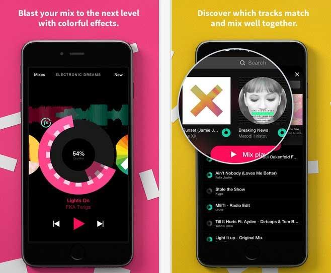 تطبيق Pacemaker افضل تطبيقات ألايفون لتشغيل ألموسيقي