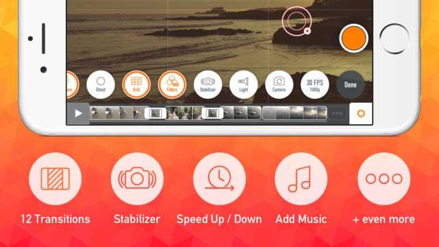 تطبيق تعديل الفيديو للايفون VEE