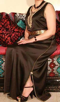 بالصور فن خياطة الفساتين الجزائرية 20160719 1572