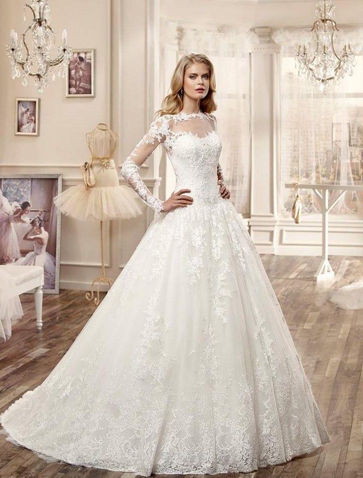 بالصور احدث صور فساتين العروس 2019 20160719 505