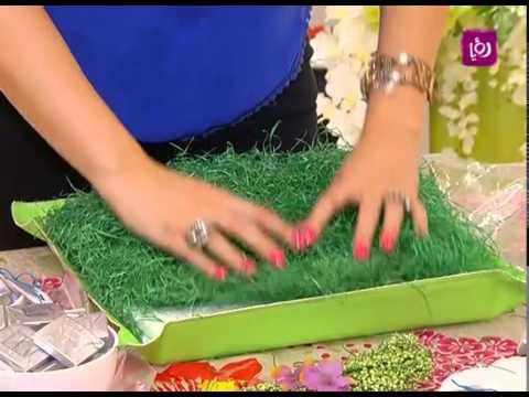 بالصور خبيرة الاشغال اليدوية فاي سابا تصنع واقي الطاولة 20160720 1307