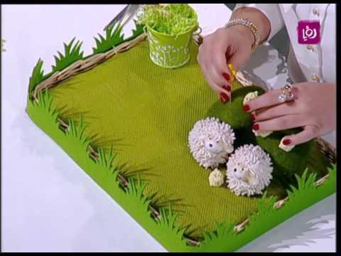 بالصور خبيرة الاشغال اليدوية فاي سابا تصنع واقي الطاولة 20160720 1309