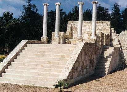 صور اثار رومانية فى العالم العربى