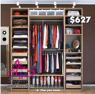 صورة افكار جديدة لتعليق الملابس , حيل لتنظيم الدولاب وداعا للفوضي