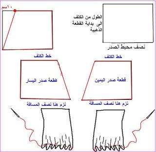 بالصور طريقة تصميم فستان سهره (من الالف الى الياء) 20160723 467