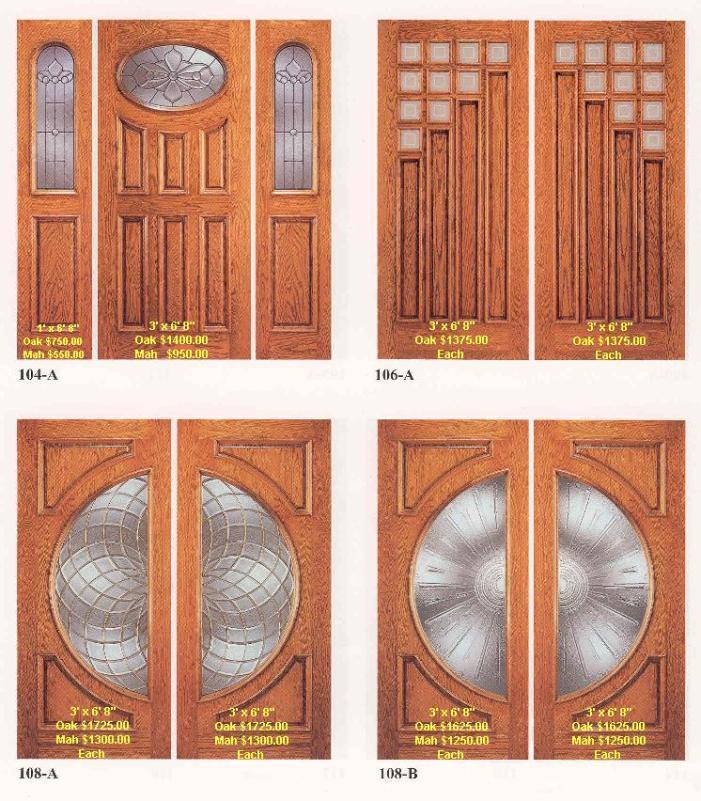 ديكورات ابواب خشب داخلية وخارجية
