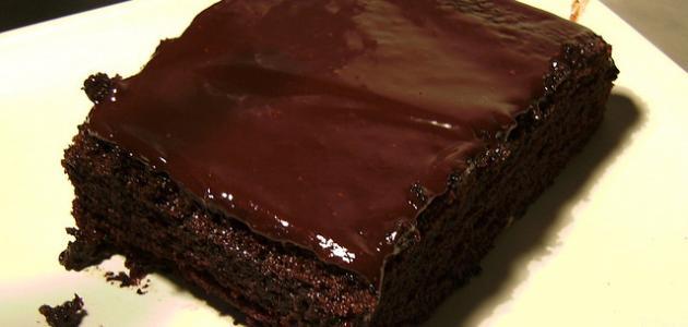 بالصور طريقة عمل كيك بالشوكولاته سهل 20160724 814