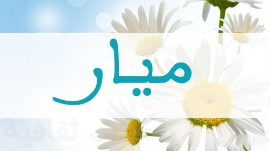 بالصور معنى اسم ميار في الاسلام 20160728 33