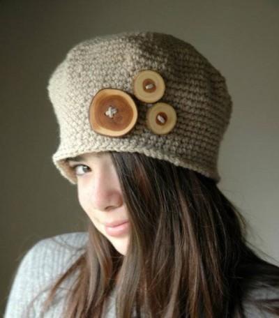 صور صور قبعات شتوية بالكروشيه
