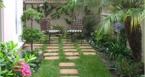 صوره تصميمات وافكار الحدائق الصغيرة