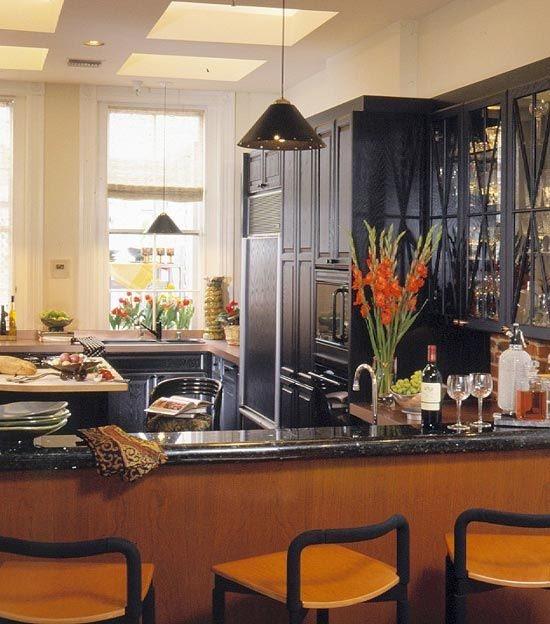 صورة احلى ديكورات مطابخ امريكية , نسقي مطبخك بطريقة امريكية كلها اضافات ساحرة