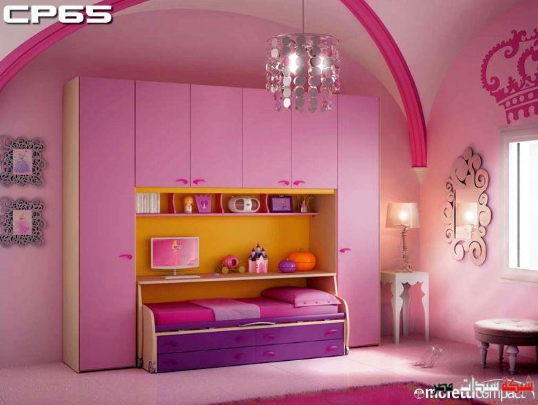 بالصور غرف نوم وردية للبنات 78cc67bb2519