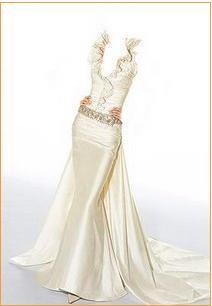 صورة كيفية خياطة فستان طويل من غير باترون بالخطوات