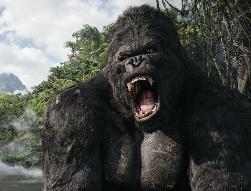 بالصور افلام خيالية احتوت على وحوش عملاقة و مرعبة King Kong 2005 810x615