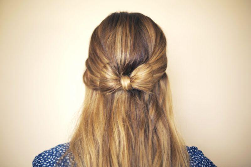 صوره تسريحات الشعر الطويل في المدرسة