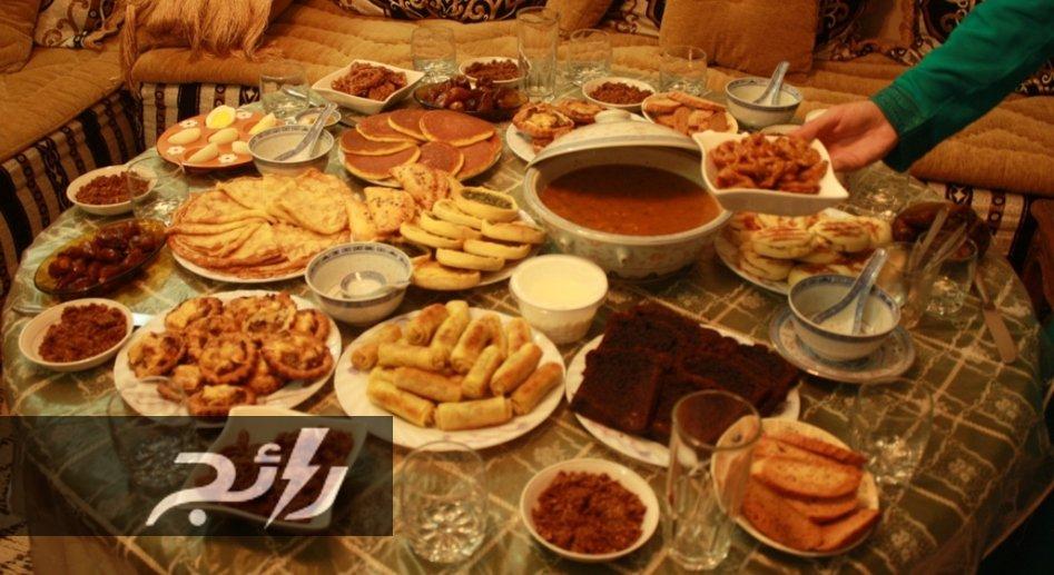 صور مائدة رمضان في المغرب