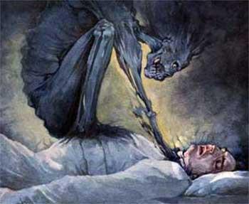 صوره الشيطان يتدخل في احلام الانسان