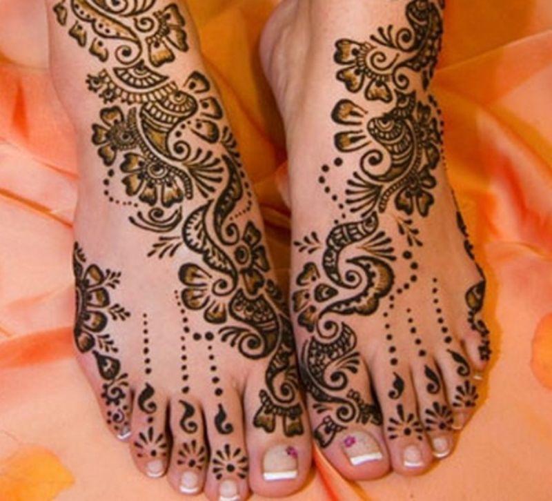 صوره اروع رسم حناء هندي