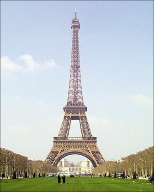 صوره طول برج ايفل في باريس