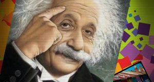 صوره اذكى سؤال في العالم  من اينشتاين كن من اذكى سكان العالم