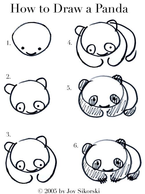 صور تعلم كيفية رسم دب