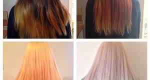 صوره كيف اسحب لون شعري