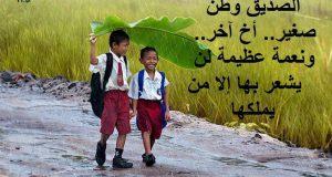 صوره اجمل كلام في الصداقة