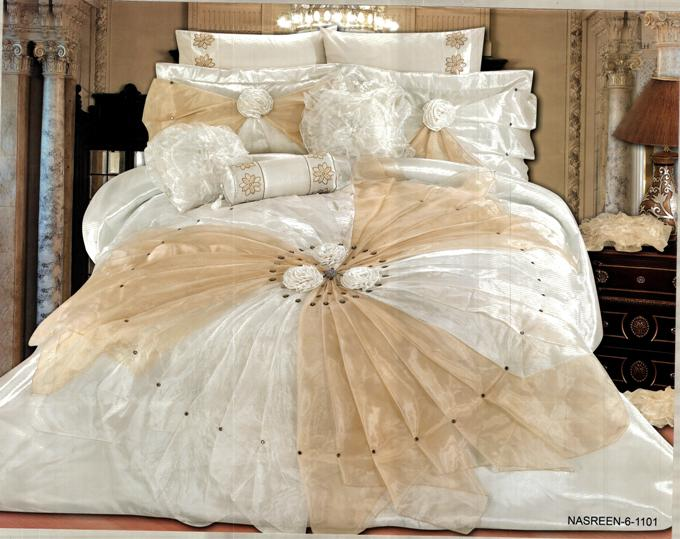 صوره غطاء سرير مودرن للعرائس