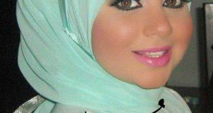 صور احدث لفات الطرح للمحجبات , اروع لفات الحجاب للفتيات