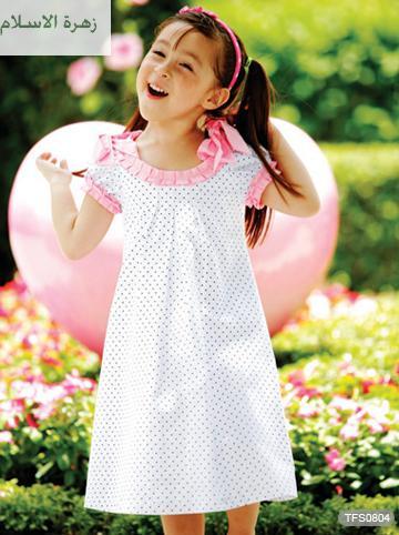 بالصور فساتين اطفال صيفية للبنات 104960