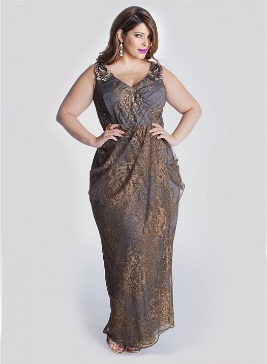 صورة ازياء ملابس للسمينات , للنساء والبنات السمينات التخان