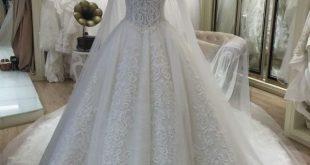 صورة فساتين زفاف بدون عارضات , صور فساتين زفاف هتخد عقل عريسك